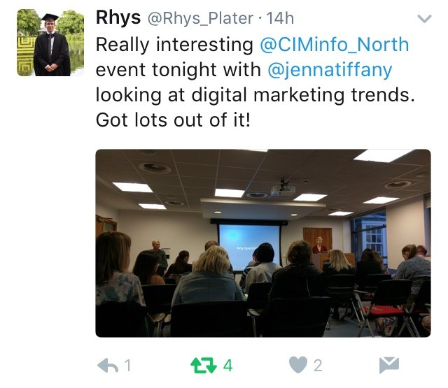 CIM North event feedback