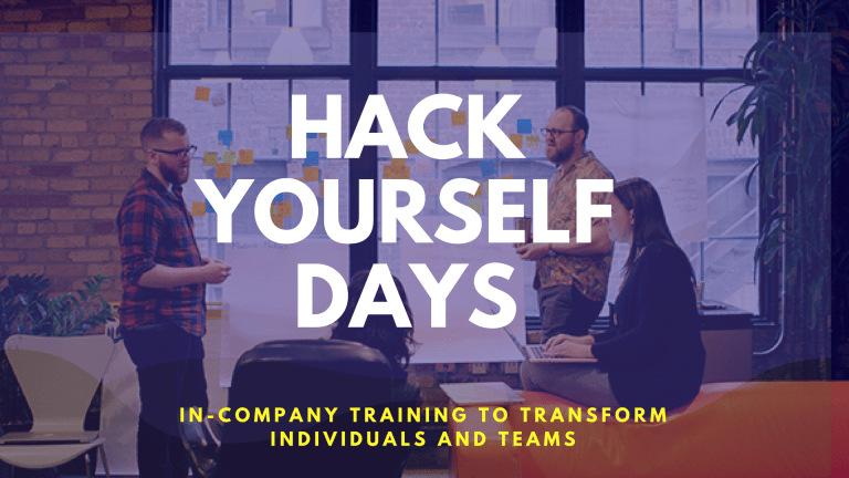 Hack Yourself Training Days with Let'sTalk Strategy