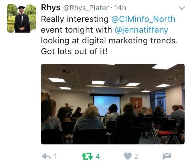 CIM North event feedback