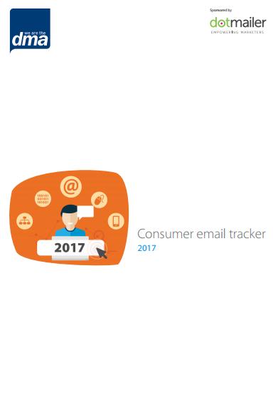 DMA consumer email tracker 2017 - Jenna Tiffany's thoughts